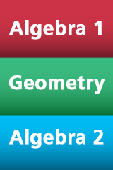 HMH Algebra 1, Geometry, and Algebra 2