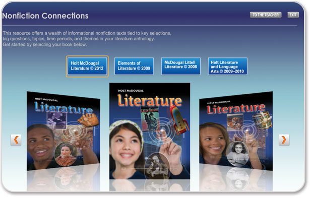 Holt mcdougal middle and high school literature textbooks teacher and student one stop cds fandeluxe Image collections