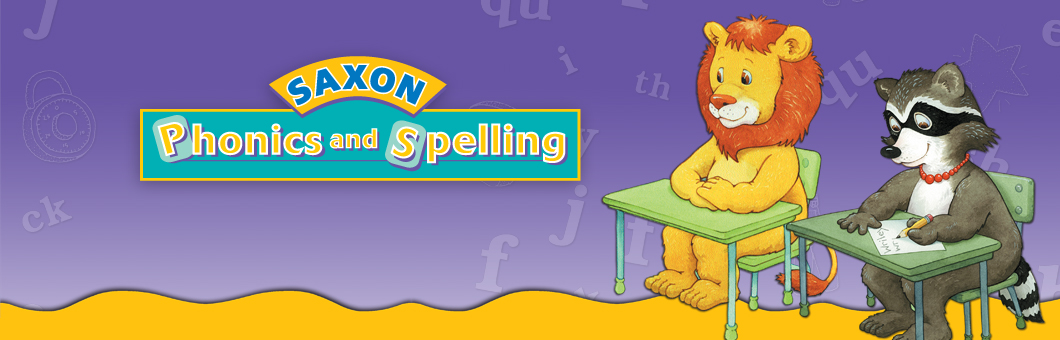 Saxon Phonics And Spelling Curriculums For Grades K 3