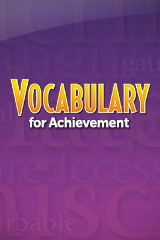 Vocabulary for Achievement