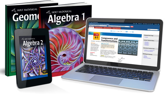 Holt mcdougal algebra 1 2 and geometry for grades 9 12 holt mcdougal algebra 1 geometry algebra 2 fandeluxe Images