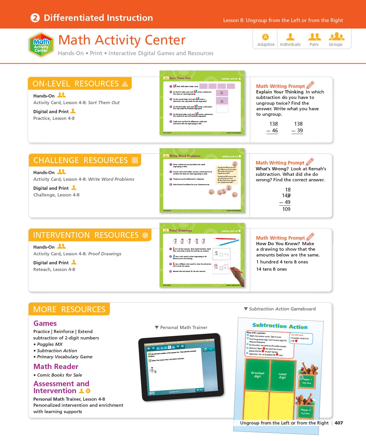 Math Expressions Math Curricula For Grades K 6