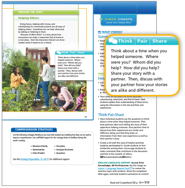 select and demonstrate learning support strategies to meet the needs of learners The thoughtful classroom program  they can select strategies that support their objectives and adapt strategies to meet particular learning goals in other words .