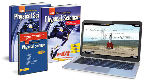 Physical Science - books