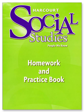 Harcourt Homework and Practice Book