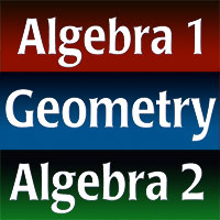 Holt McDougal Algebra 1, Geometry, and Algebra 2