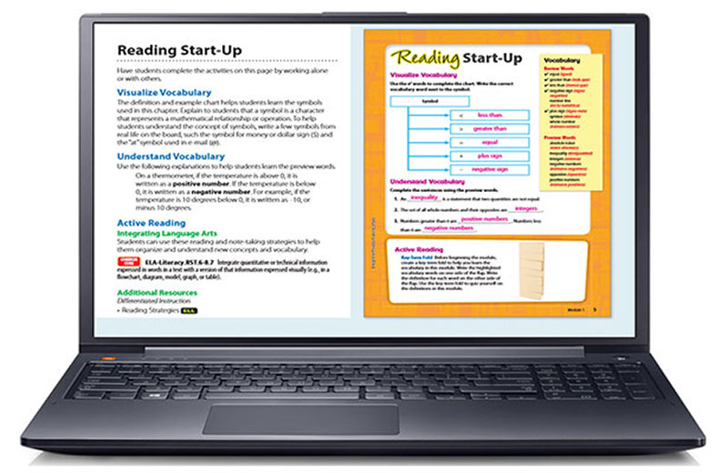 Go Math Elementary And Middle School Curriculums. Online Teacher Edition. Worksheet. Math Worksheet Online At Mspartners.co