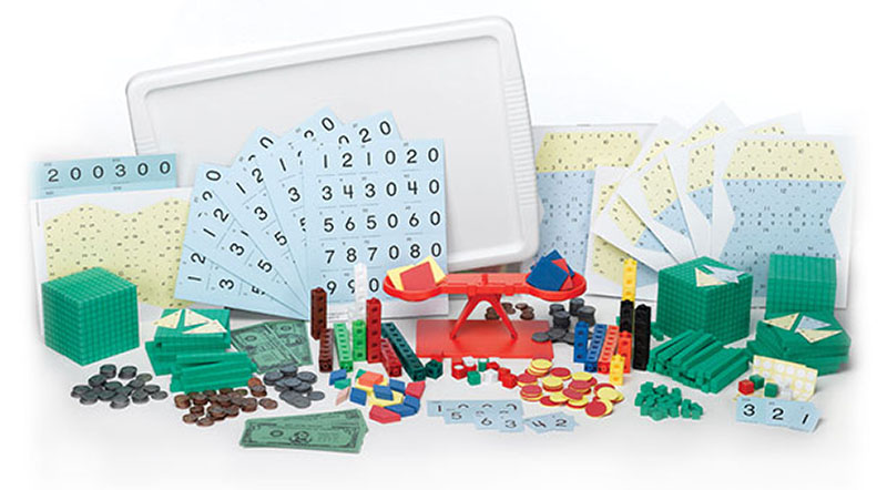 Go math elementary and middle school math curriculums grab and go manipulative kits fandeluxe Images